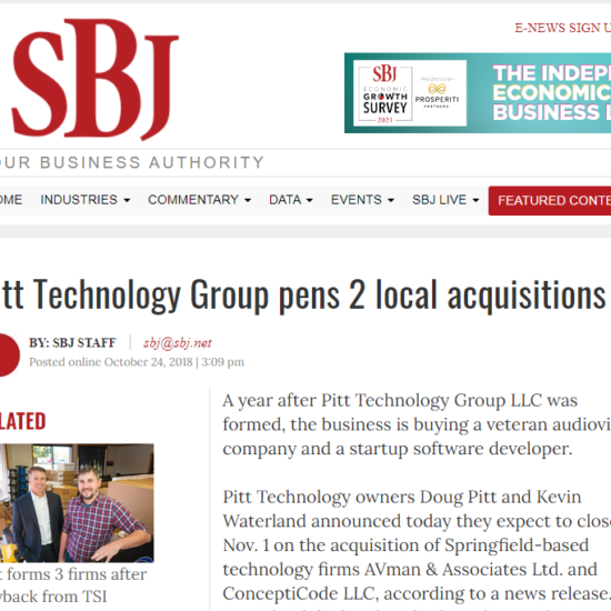 SBJ acquisition article